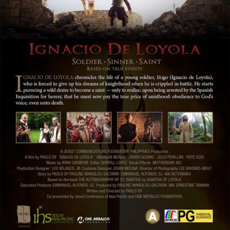 Ignacio DVD PAL case Back